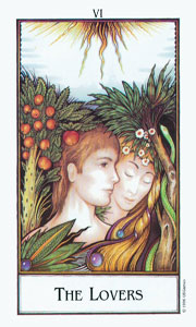 Lovers by Palladini Tarot