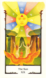 Sun by Old Path Tarot