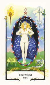 World by Old Path Tarot