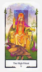High Priest by Old Path Tarot