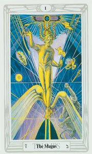 Magus by Crowley Tarot