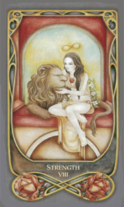 Strength by Fenestra Tarot
