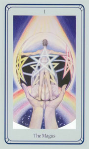 Magus by Via Tarot