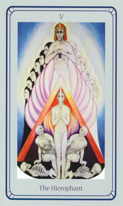 Hierophant by Via Tarot Life Path