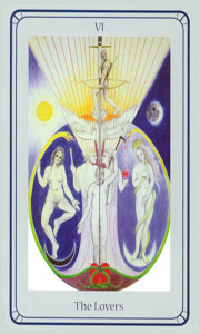 Lovers by Via Tarot Life Path