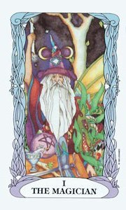 Magician by Moon Tarot