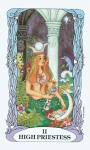 High Priestess by Moon Garden Tarot