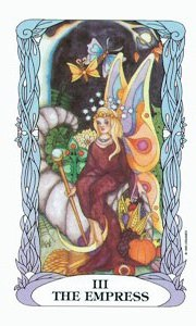 Empress by Moon Garden Tarot