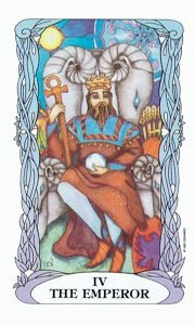 Emperor by Moon Tarot