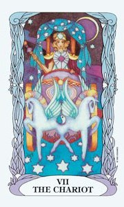 Chariot by Moon Tarot
