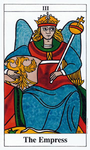 Empress by Merseille Tarot