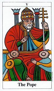 Pope by Merseille Tarot