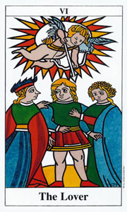Lover by Merseille Tarot