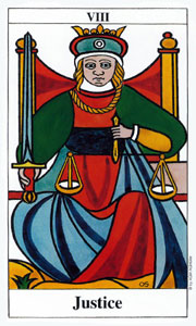 Justice by Merseille Tarot