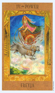 Power by Goddess Tarot