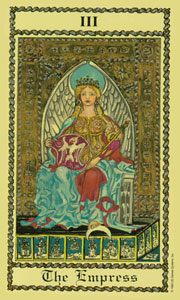 Empress by Scapini Tarot