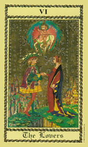 Lovers by Scapini Tarot